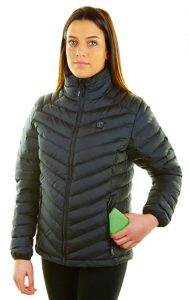 Chaqueta calefactable mujer