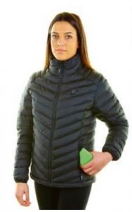 chaqueta calefactable para mujer