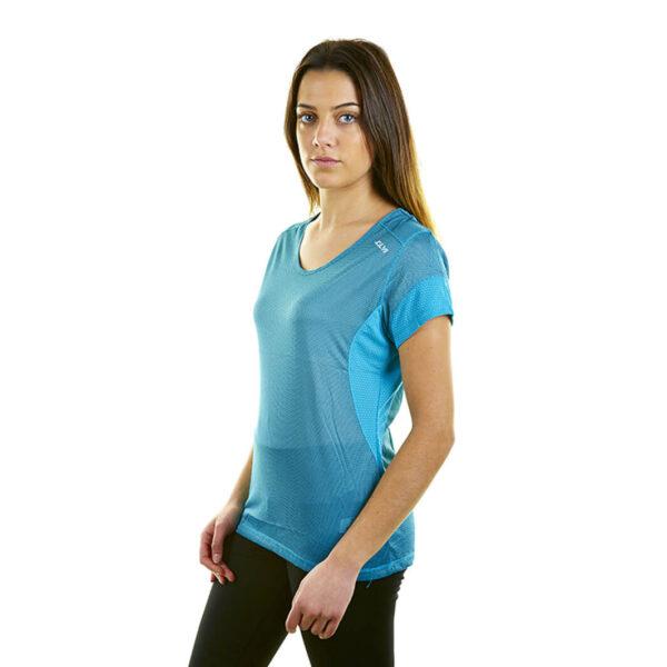 Camiseta técnica mujer Joluvi Turquesa