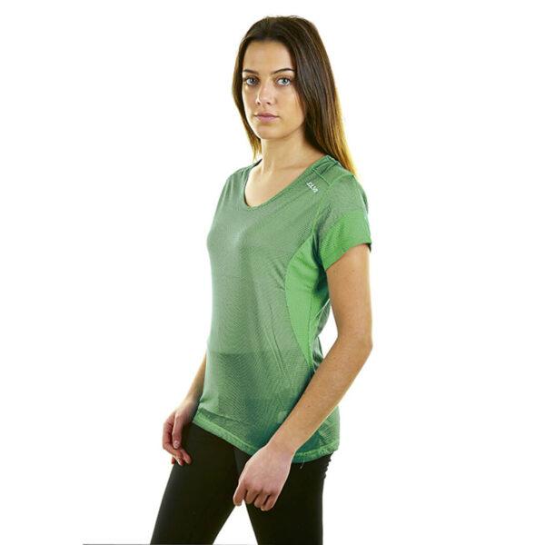 Camiseta técnica mujer Joluvi Verde Neón