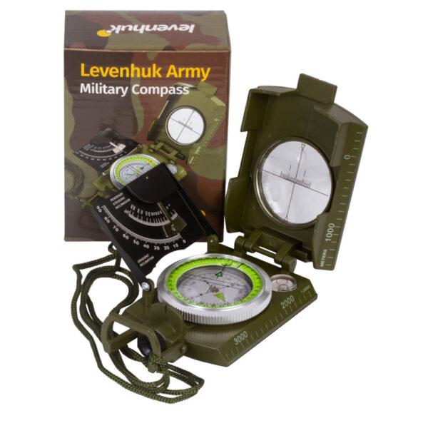 Brújula Líquida de Orientación Levenhuk Army AC20