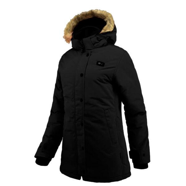 Parka abrigo con calefacción Joluvi. Doble sistema de calefacción