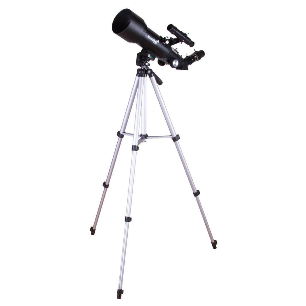Telescopio Astronómico Levenhuk Travel 70 Refractor