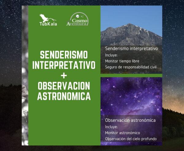 Senderismo Interpretativo Observación Astronómica